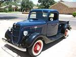 1935 FORD CUSTOM PICKUP - Front 3/4 - 116180