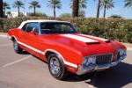 1970 OLDSMOBILE 442 W30 CONVERTIBLE - Side Profile - 116182