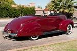 1939 FORD DELUXE CUSTOM CONVERTIBLE W/RUMBLESEAT - Rear 3/4 - 116189