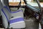 1977 FORD BRONCO CUSTOM 1/2 CAB - Interior - 116197