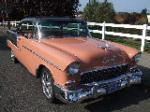 1955 CHEVROLET BEL AIR CUSTOM 2 DOOR HARDTOP - Front 3/4 - 116232