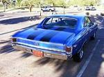 1967 CHEVROLET CHEVELLE MALIBU CUSTOM 2 DOOR COUPE - Rear 3/4 - 116242
