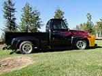 1954 FORD F-100 CUSTOM PICKUP - Side Profile - 116306