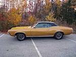 1970 MERCURY COUGAR XR7 CONVERTIBLE - Side Profile - 116372