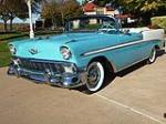 1956 CHEVROLET BEL AIR CONVERTIBLE - Front 3/4 - 116377