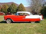1955 CHEVROLET BEL AIR CUSTOM 2 DOOR COUPE - Side Profile - 116381