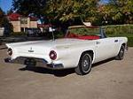 1957 FORD THUNDERBIRD CONVERTIBLE - Rear 3/4 - 116382