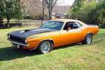 1970 PLYMOUTH CUDA AAR 2 DOOR COUPE - Front 3/4 - 116388