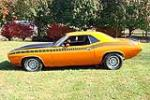 1970 PLYMOUTH CUDA AAR 2 DOOR COUPE - Side Profile - 116388