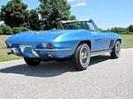1965 CHEVROLET CORVETTE CONVERTIBLE - Rear 3/4 - 116398