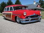 1954 MERCURY MONTEREY CUSTOM WOODY WAGON - Front 3/4 - 116403