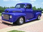 1950 FORD CUSTOM PICKUP - Front 3/4 - 116414