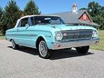 1963 FORD FALCON CONVERTIBLE - Front 3/4 - 116425