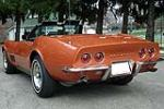 1968 CHEVROLET CORVETTE CONVERTIBLE - Rear 3/4 - 116438