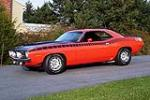1970 PLYMOUTH CUDA AAR 2 DOOR COUPE - Side Profile - 116453