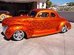 1939 FORD CUSTOM DELUXE 2 DOOR COUPE - Front 3/4 - 116460