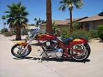 2007 SAXON CUSTOM MOTORCYCLE - Front 3/4 - 116478