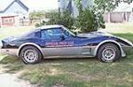 1978 CHEVROLET CORVETTE PACE CAR COUPE - Side Profile - 116486