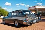 1957 CHEVROLET NOMAD CUSTOM STATION WAGON - Rear 3/4 - 116510