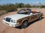 1983 CHRYSLER LEBARON TOWN & COUNTRY CONVERTIBLE - 116523
