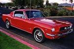 1965 FORD MUSTANG FASTBACK - Front 3/4 - 116758