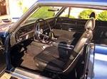 1967 PLYMOUTH GTX 2 DOOR HARDTOP - Interior - 117061