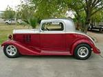 1933 CHEVROLET CUSTOM 2 DOOR COUPE - Side Profile - 117101