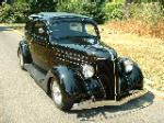 1936 FORD CUSTOM 2 DOOR SEDAN - Front 3/4 - 117135