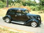 1936 FORD CUSTOM 2 DOOR SEDAN - Side Profile - 117135