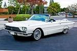 1966 FORD THUNDERBIRD CONVERTIBLE - Side Profile - 117148