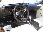 1970 PLYMOUTH CUDA CUSTOM 2 DOOR CONVERTIBLE - Interior - 117151