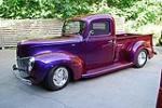 1940 FORD CUSTOM PICKUP - Front 3/4 - 117162
