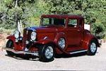 1932 STUDEBAKER DICTATOR CUSTOM 2 DOOR COUPE - Front 3/4 - 117205