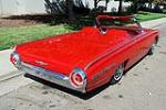 1962 FORD THUNDERBIRD SPORTS ROADSTER - Rear 3/4 - 117206