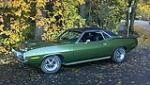 1970 PLYMOUTH CUDA 2 DOOR HARDTOP - Side Profile - 117244