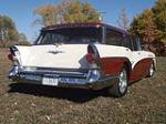 1957 BUICK CUSTOM STATION WAGON - Rear 3/4 - 117252