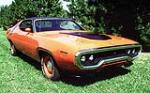 1971 PLYMOUTH ROAD RUNNER CUSTOM 2 DOOR COUPE - Front 3/4 - 117255