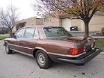 1979 MERCEDES-BENZ 450SEL SEDAN - Rear 3/4 - 117260
