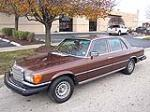 1979 MERCEDES-BENZ 450SEL SEDAN - Side Profile - 117260