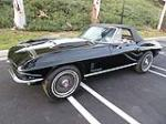 1967 CHEVROLET CORVETTE CONVERTIBLE - Side Profile - 117281