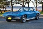 1965 CHEVROLET CORVETTE CONVERTIBLE - Front 3/4 - 117293