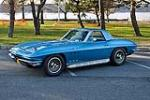 1965 CHEVROLET CORVETTE CONVERTIBLE - Side Profile - 117293