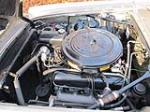 1962 LINCOLN CONTINENTAL CUSTOM 2 DOOR COUPE - Engine - 117301