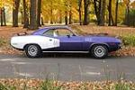1971 PLYMOUTH CUDA 2 DOOR HARDTOP - Side Profile - 117315