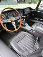 1969 JAGUAR XKE ROADSTER - Interior - 117325
