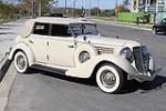 1935 AUBURN 653 CONVERTIBLE SEDAN - Front 3/4 - 117393
