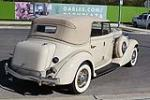 1935 AUBURN 653 CONVERTIBLE SEDAN - Rear 3/4 - 117393