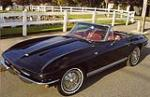 1964 CHEVROLET CORVETTE CONVERTIBLE - Front 3/4 - 117411