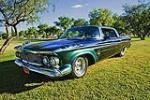 1962 CHRYSLER IMPERIAL CUSTOM 4 DOOR HARDTOP - Front 3/4 - 117437