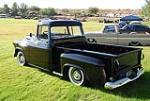 1956 CHEVROLET APACHE CUSTOM PICKUP - Rear 3/4 - 117495